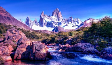 Argentina patagonia ice mountains HD wallpaper