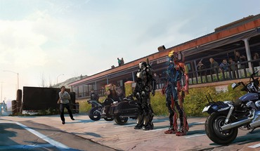 Iron man 3 artwork concept art HD wallpaper