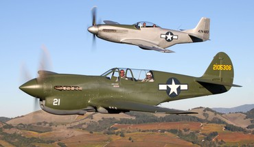 Avions Warbird curtiss p- 40  HD wallpaper