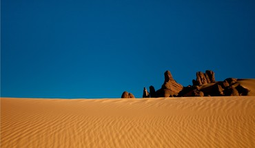 Landscapes sand desert HD wallpaper