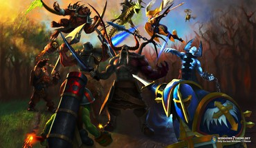 Heroes of newerth game HD wallpaper