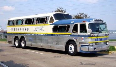 Bus greyhound HD wallpaper