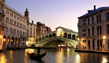 pont du canal de Venise Grand italie  HD wallpaper