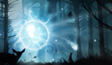 Video games heroes dota 2 wisp HD wallpaper