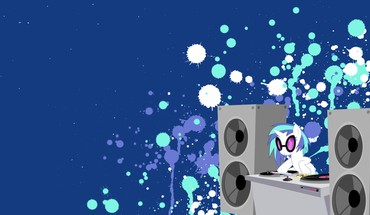 Vinyl scratch my little pony: friendship is magic HD wallpaper