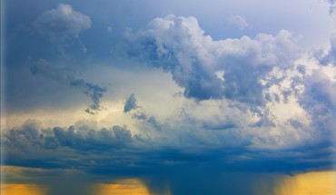 Clouds nature rain HD wallpaper