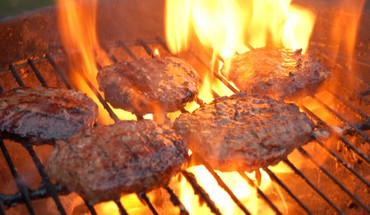 Bbq barbecue grill fire food HD wallpaper