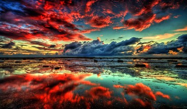 Nature sun fantasy art hdr photography skyscapes HD wallpaper