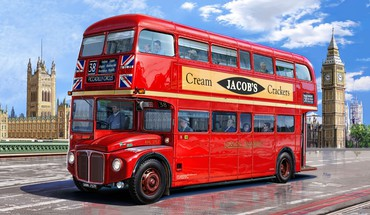 London bus HD wallpaper