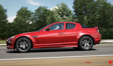 Forza motorsport 4 mazda rx8 xbox 360 cars HD wallpaper