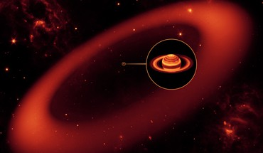 Ring around saturn HD wallpaper