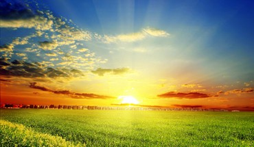Spring sun HD wallpaper