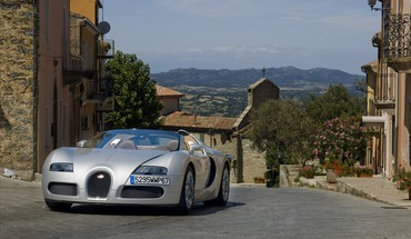 Bugatti veyron cars silver streets HD wallpaper