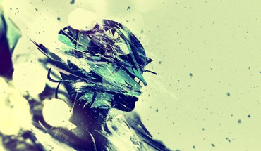 Abstract digital art artwork faces HD wallpaper