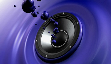 Speakers digital art speaker HD wallpaper