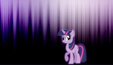 My little pony twilight sparkle glow HD wallpaper