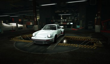 Speed porsche 911 world carrera garage nfs HD wallpaper