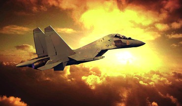 Aircraft clouds fighter jets flieger flugzeug HD wallpaper