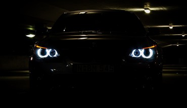Vehicles 5 series e60 automobile eyes angel HD wallpaper