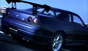 Gran turismo 5 nissan skyline r33 gtr playstation HD wallpaper