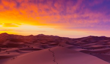 Sahara desert sand dunes HD wallpaper