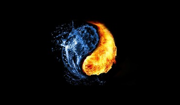 The fire and ice of it HD wallpaper