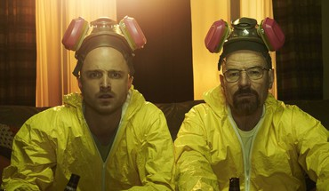 Cranston Walter balta Aaron Paul Jesse pinkman  HD wallpaper