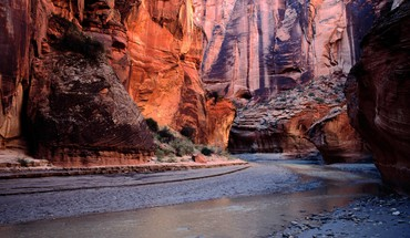 River bend in paria canyon arizona HD wallpaper