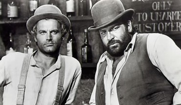 Western Schauspieler Terence Hill Bud Spencer  HD wallpaper