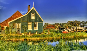 Holland farmhouse HD wallpaper