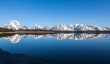 Mountains landscapes grand teton national park skies HD wallpaper