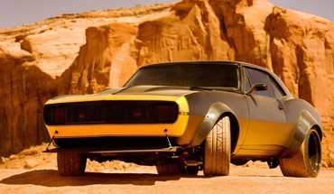 Retro bumblebee transformers 4 HD wallpaper