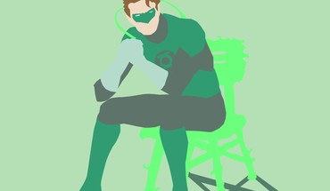 Green lantern simple HD wallpaper