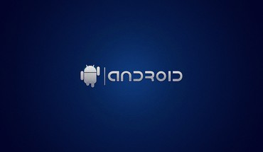 Blue Android  HD wallpaper