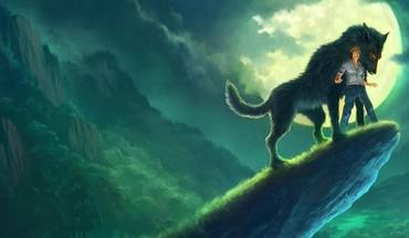 Artwork wolves andreas rocha HD wallpaper