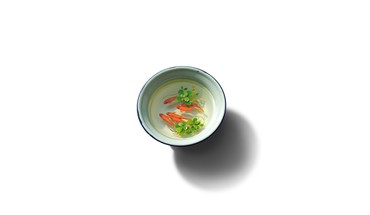 Minimalistic goldfish bowls artwork simple background white HD wallpaper
