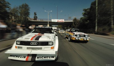 Audi cars races HD wallpaper