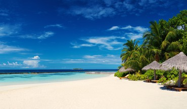 Baros island maldives HD wallpaper