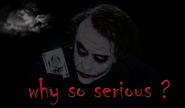 Batman why so serious? serious jocker HD wallpaper