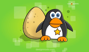 Cartoons pinguin HD wallpaper