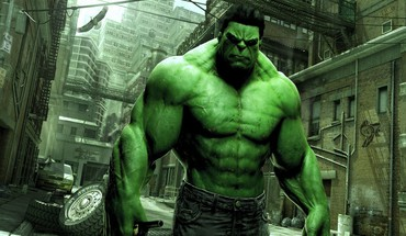 Green marvel comics hulk HD wallpaper
