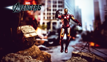 Movie posters the avengers (movie) blurred background HD wallpaper
