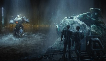 Guillermo del toro kaiju leatherback pacific rim HD wallpaper