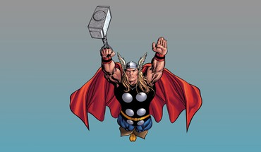 Comics thor mjolnir HD wallpaper