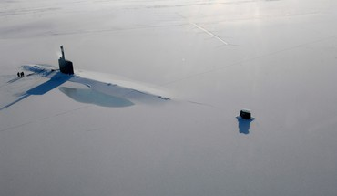Army ice snow submarine winter HD wallpaper