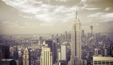 Empire state building manhattan new york city HD wallpaper