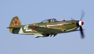 Airplanes warbird yak yak-3 HD wallpaper