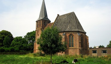 Kirche in Persingen  HD wallpaper