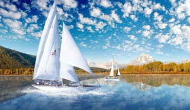 Sail boat HD wallpaper