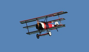 Airplane prop engine triplane fokker dr 1 HD wallpaper